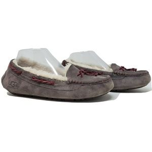 UGG Slippers Brett Shearling Women's Size 9 Solid